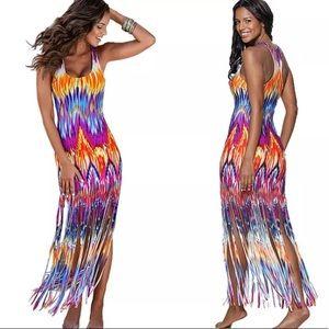 Maxi Beach Vacation Dress